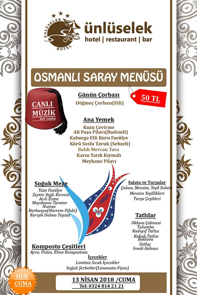 menu 13 nİSAN